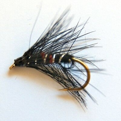 24 Traditional Scottish Wet Fly fishing Flies Trout Grayling by Dragonflies