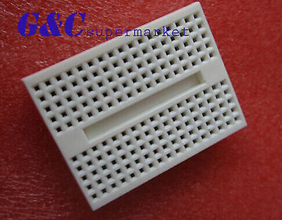 5pcs White Solderless Prototype Breadboard 170 SYB-170 Tie-points for Arduino
