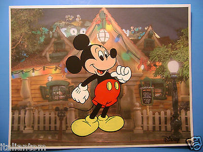 Mickey Mouse Disney Hand Painted Handpainted  Animation Cel Cell Art