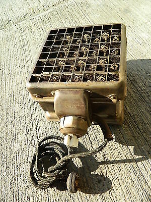 Pat 1906 Antique Vintage Ruthenber Electric Grill, Tested, Working 110 Volt