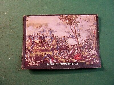 U. S. ARMY IN ACTION CARD NO. 5 BATTLE OF CHAMPION-HILLS