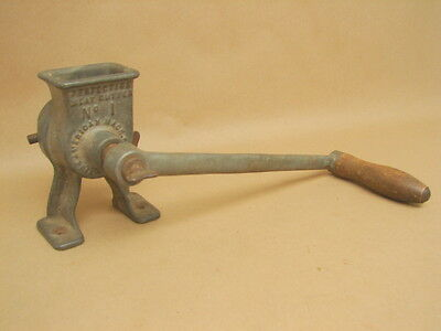 Antique Vintage Perfection Meat Cutter No 1 American Machine Co 1889 Patent