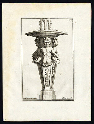 Antique Print-STATUE-CHILDREN-BUSTS-Thomassin-1695