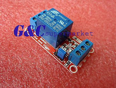 1pcs 5V 1-Channel Relay Module with Optocoupler H/L Level Triger for Arduino M34