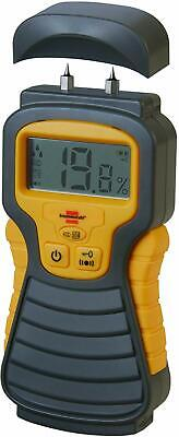 Brennenstuhl Digital Moisture/Damp Detector for Wood or Building  - LCD Screen