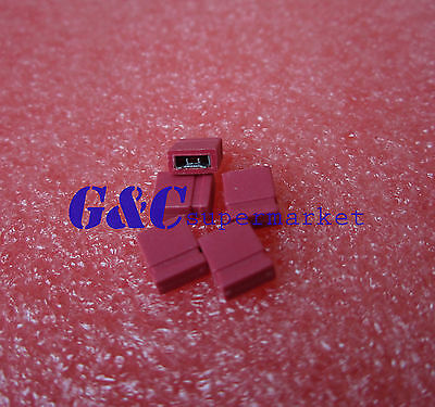 500Pcs Yellow2.54mm Jumper Cap mini Jumper Short Circuit Cap Connection Closed