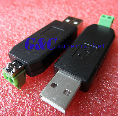 CH340G Chip USB to RS485 485 Converter Adapter For Win7/Linux/XP/Vista top M94