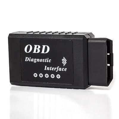 OBDII Scanner Code Reader Bluetooth Wireless OBD2 Scan Tool for Torque Android