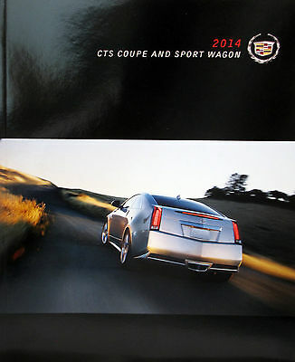 2014 Cadillac CTS Coupe and Sport Wagon