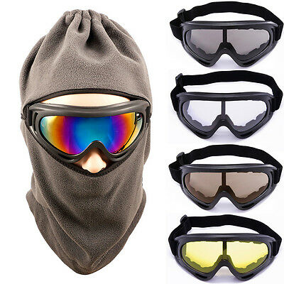 2015 Snow Snowboard Goggles Frame Lens Ski Sports Motorcycle Glasses 5 Colors