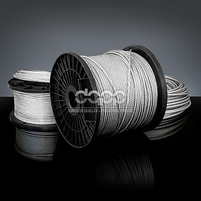 [bulk] 3250 ft x 1/16 inch STAINLESS STEEL WIRE ROPE - 7x7 (1,5mm x ~990m)