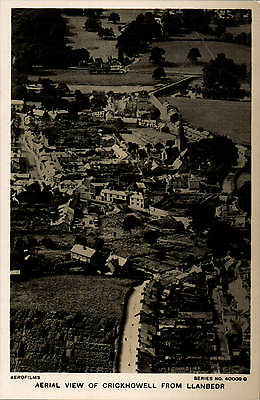 Crickhowell. Aerial View from Llanbedr # 40009 C by Aerofilms.