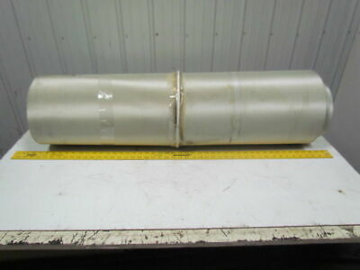 Gree 1-Ply Smooth Top Nylon Backed Center V Guide Conveyor Belt 23FT X 41""