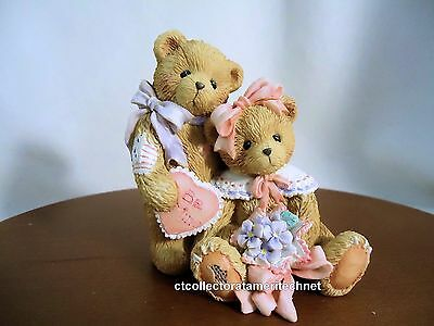 Cherished Teddies Oliver and Olivia 1994  Used No Box