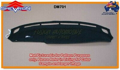 Black Dashmat for MITSUBISHI Triton MK 11/1996-6/2006 Dash Mat DM701