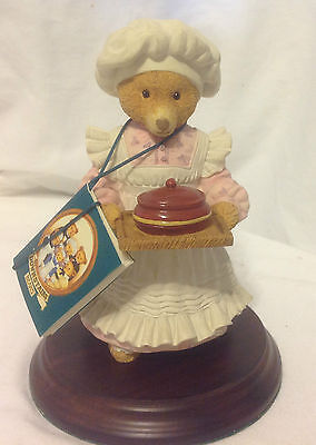 Department Dept 56 The Upstairs Downstairs Bears Mrs. Bumble Figurine Lawson Ec