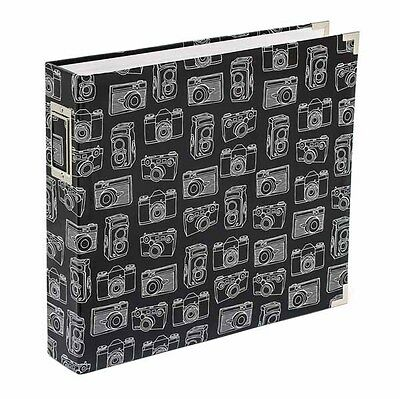 American Crafts - Project Life - Albums - 12x12 - D-Ring - Cameras - Glossy