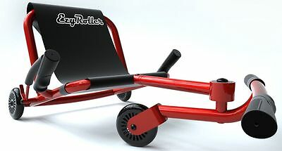 Ezy Roller Kids 3 Wheel Ride On Ultimate Riding Machine EzyRoller RED NEW