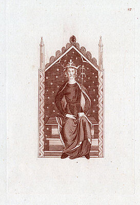 Antique Print-KING HENRY THE SECOND-ENGLAND-Strutt-1793