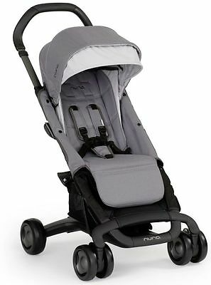 Nuna Baby Pepp Ultra Compact Fold Single Stroller Sand NEW