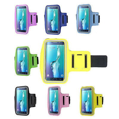 For Samsung Galaxy S6 Edge+ Plus Running Sports Gym Armband Arm Band Case Cover