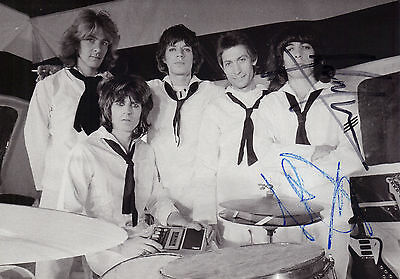 Rolling Stones Hand Signed Autographed Genesis Publications Gallery Promo Card