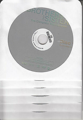 Brothers and Sisters: The Complete Third Season (DVD, 6-Disc Set) NCV