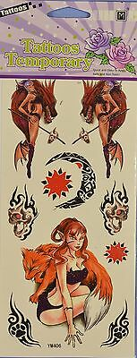 Temporary Tattoos - Lady Devil
