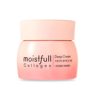ETUDE HOUSE* Moistfull  Collagen Deep Cream 75ml (New) -Korea cosmetics