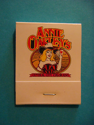 Matches Matchbook ~ ANNIE OAKLEY'S & The Silver Slipper Casino ~ Central City CO
