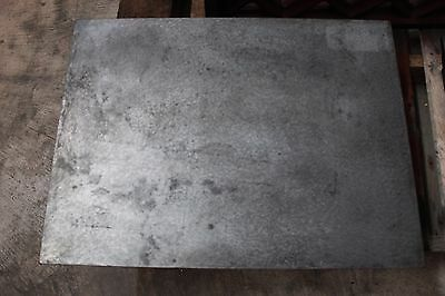 "Machinists Machine Surface Plate Hand Scraped Cast Iron 24"" x 18"" x 5 3/4"" Mill"