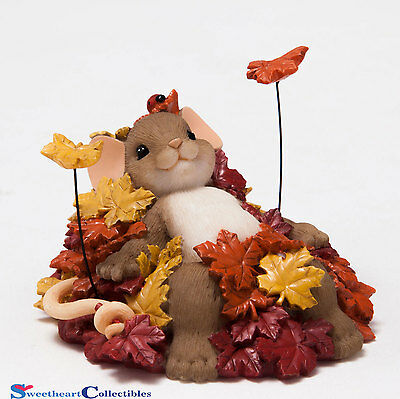 Charming Tails 4046805 Pile Of Leafs New 2015