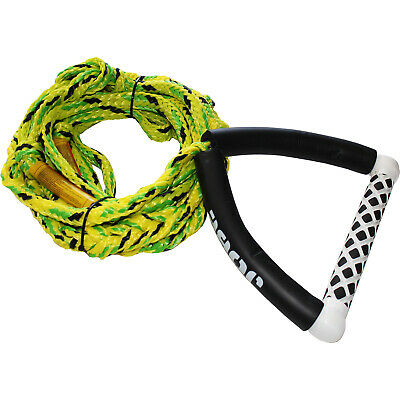 JOBE WAKESURF HANDLE & 24ft SKI WAKEBOARD KNEEBOARD ROPE