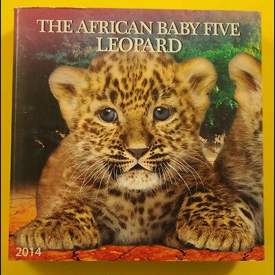 THE AFRICAN BABY FIVE LEOPARD 1oz .999 Fine Silver Coin