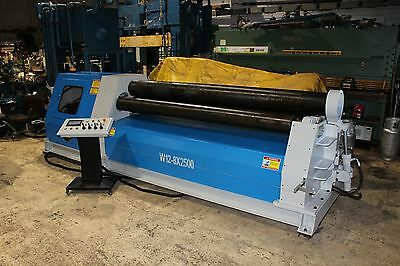 "Hoston W12-8X2500 8' x 5/16"" Plate Roll ""New"""