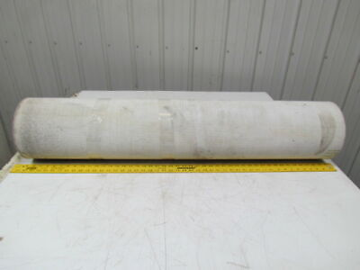 "1 Ply Green Urethane Rubber Smooth Top Conveyor Belt 11Ft X 46"" 0.224"" Thick"