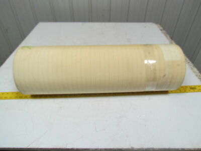 2 Ply Smooth Top Clear/White Urethane Rubber Conveyor Belt 29Ft X 29-1/8""