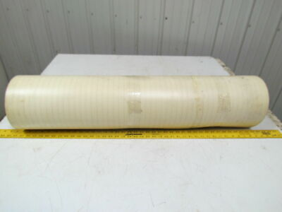 2 Ply Smooth Top Clear/White Urethane Rubber Conveyor Belt 19Ft X 38-1/2""