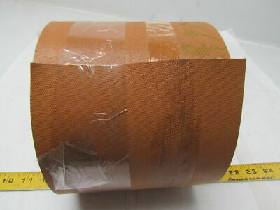 "2 Ply Tan Rubber Nylon Conveyor Belt 35Ft X 6-1/8"" 0.100"" Thick"