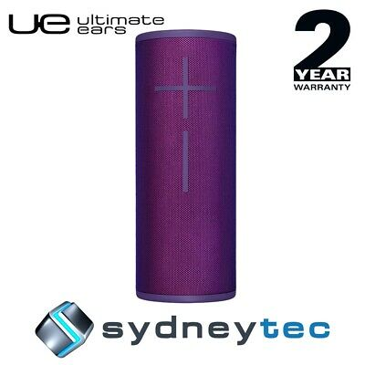 New UE Ultimate Ears MEGABOOM 3 Wireless Bluetooth Speakers Ultraviolet Purple
