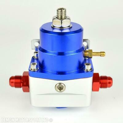 AN -8 (8AN) FPR Fuel Pressure Regulator Blue With An8 Fittings 100 Psi 1:1