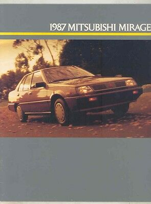 1987 Mitsubishi Mirage Turbo Brochure my5435