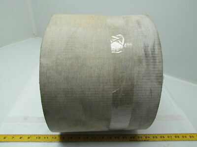"1 Ply Gray Rough Top Incline Conveyor Belt 85Ft X 10-1/2"" 0.145"" Thick"