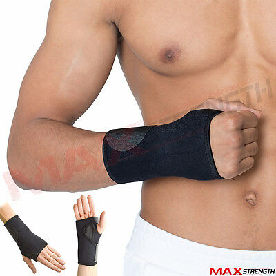 Breathable Carpal Tunnel Splint Wrist Support Brace Arthritis Sprain Strain x1