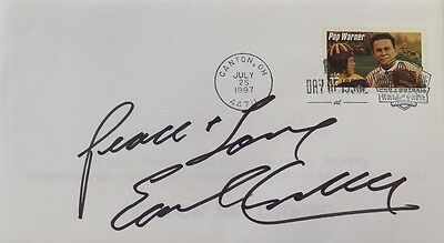 Earl Campbell Houston Oilers Signed First Day Cover