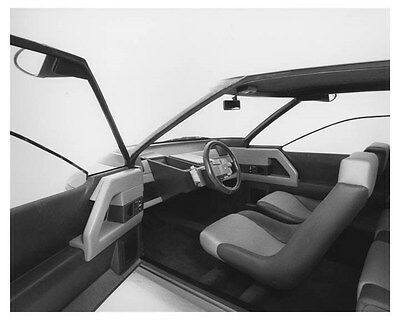 1985 Citroen Eco 2000 Interior Automobile Photo Poster zch8526