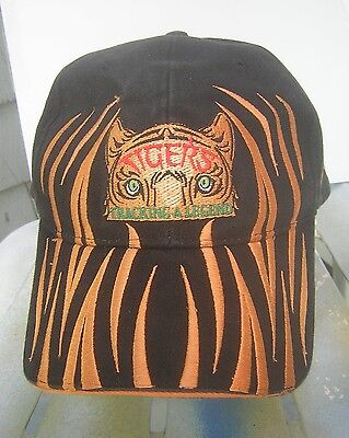 """Tigers - """"Tracking A Legend"""" Exhibition - Collectible Black & Orange Hat"""