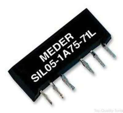 RELAY, REED, SIL, 5VDC, Part # SIL05-1A72-71L