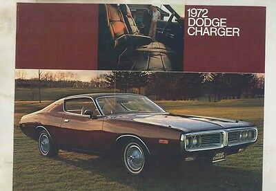 1972 Dodge Charger Brochure my5446