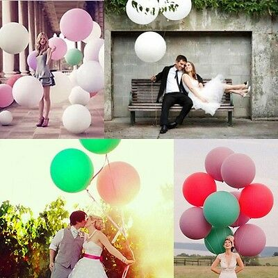 """36"""" Latex Giant Big Balloon for Birthday Wedding Party Helium Home Decoration"""